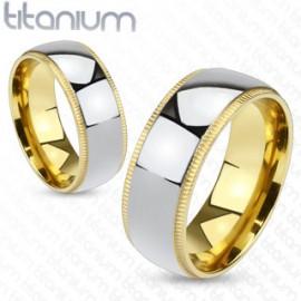Snubní prsteny titan OKRTM1011