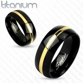 Snubní prsteny titan OKRTI4393