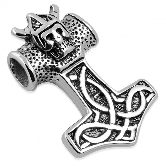 Ocelový přívěšek Thorovo kladivo