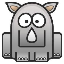 Ocelový přívěšek - slon