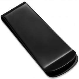 Černá spona na peníze z chirurgické oceli 22x52mm
