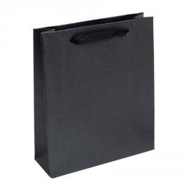 Malá dárková taška perleťově černá