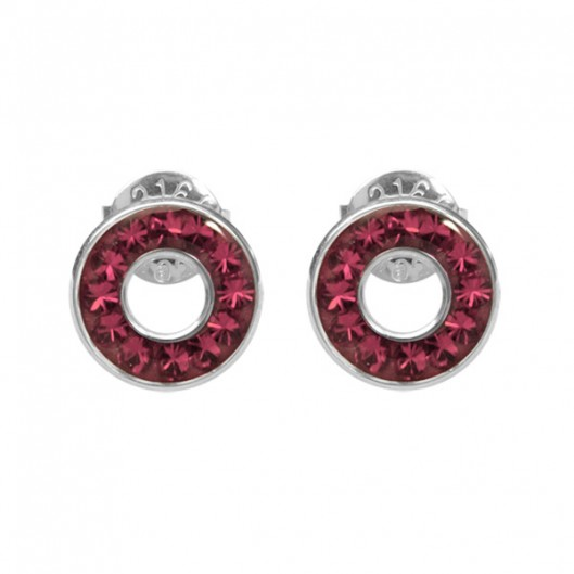 Tribal Naušnice ESSW21 rose s krystaly Swarovski Elements dba438a376b