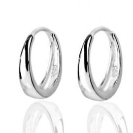 Stříbrné náušnice maličké kroužky