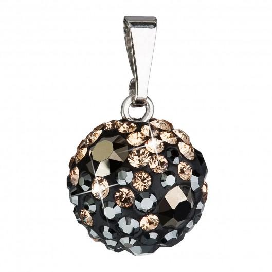 Stříbrný přívěšek s kulička s kamínky Crystals from Swarovski® Colorado