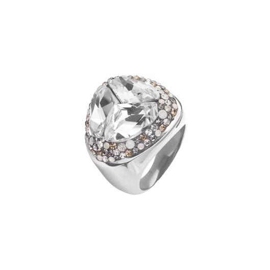 Prsten RSSW14 cz s krystaly Swarovski Elements