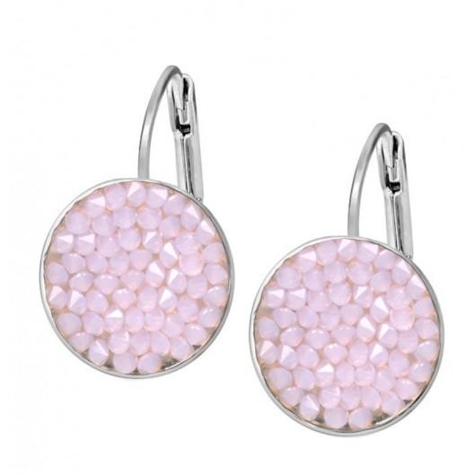 Náušnice s krystaly Crystals from Swarovski® ROSE WATER OPAL 804e39897c5