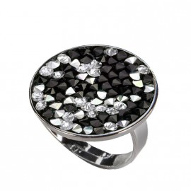 Prsten s krystaly Crystals from Swarovski® PEPPER