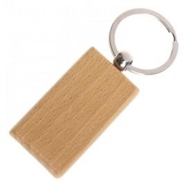 Dřevěný přívěšek na klíče - obdélník