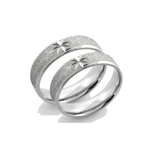 Snubní prsteny chirurgická ocel 1 pár ASR328