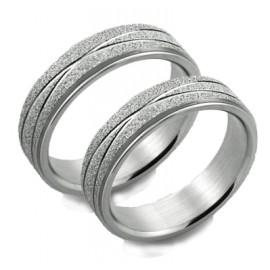 Snubní prsteny chirurgická ocel 1 pár ASR326