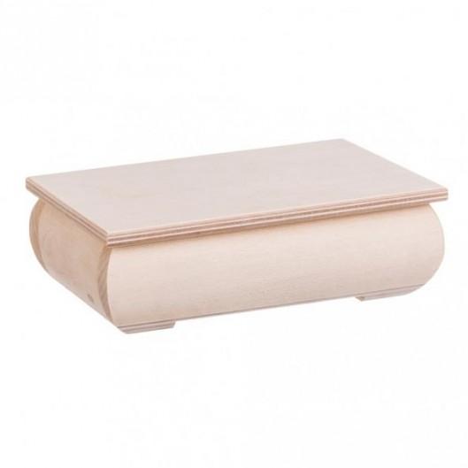 Dřevěná krabička - šperkovnice
