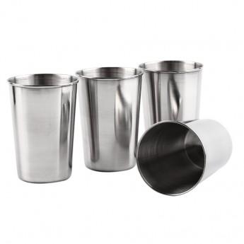 Kapesní nerezový pohárek - kalíšek 320ml