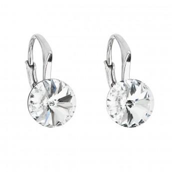 Stříbrné náušnice s Crystals from Swarovski® Crystal