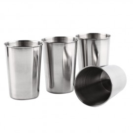 Kapesní nerezový pohárek - kalíšek 180ml