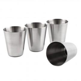Kapesní nerezový pohárek - kalíšek 30ml