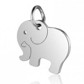 Malý ocelový přívěšek slon