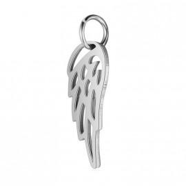 Malý ocelový přívěšek andělké křídlo