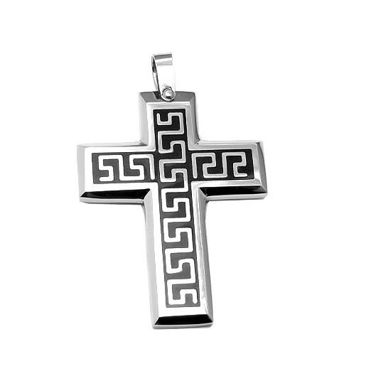 Přívěsek chirurgická ocel kříž PSM94