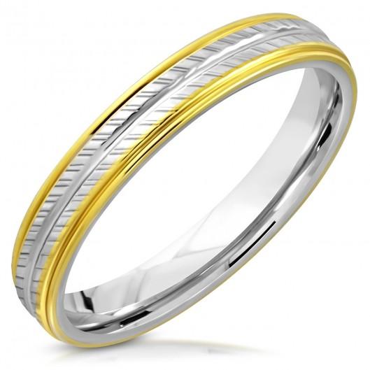 NSS3006 Dámský snubní prsten ocel