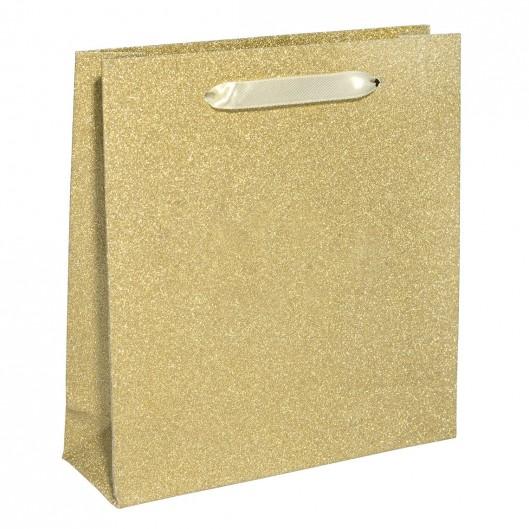 Papírová dárková taška zlatá