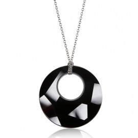 Náhrdelník Crystals SWAROVSKI®, BLACK JET