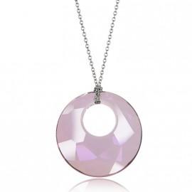 Náhrdelník Victory s kamenem Crystals From Swarovski®, ANTIQUE PINK