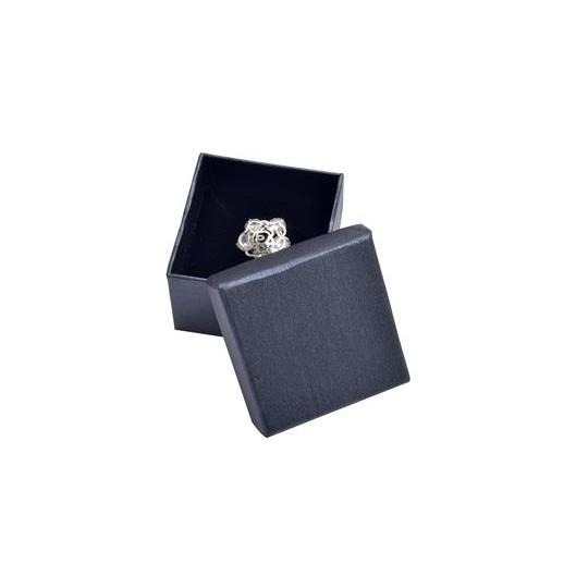 Malá dárková krabička na prsten šedá