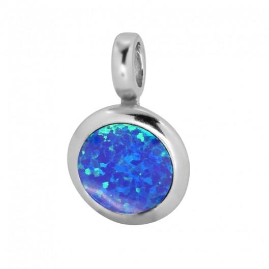 Selilya Silver Přívěsek stříbrný SPJ37 blue