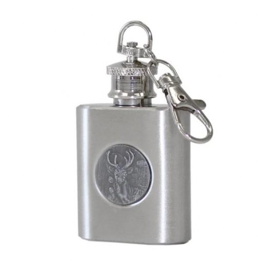 MINI kapesní lahev - placatka, přívěšek na klíče 30ml
