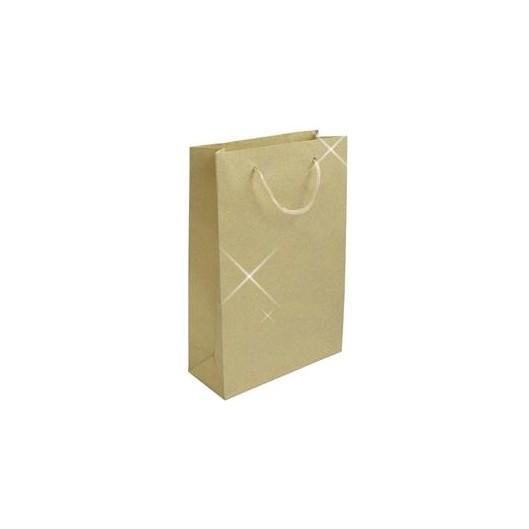 Velká dárková taška zlatá