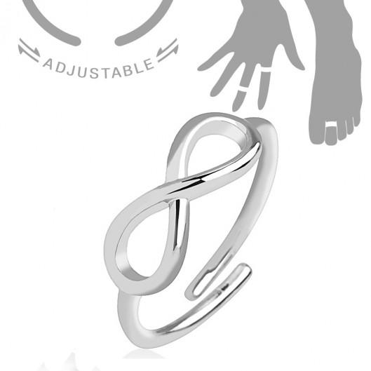 9fcdced5d Prsten na nohu vlnky levně   Blesk zboží