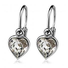 Silvego stříbrný prsten AIMEE se Swarovski(R) Crystals