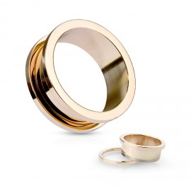 Stříbrný piercing do pupíku - zirkon 12 mm