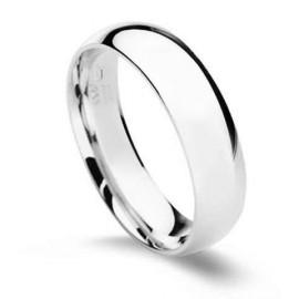 Stříbrný prsten, šíře 5 mm