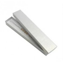 Dárková krabička na náramek stříbrná
