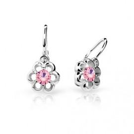 Cutie Jewellery Dětské naušnice Cutie C1947-B Pink