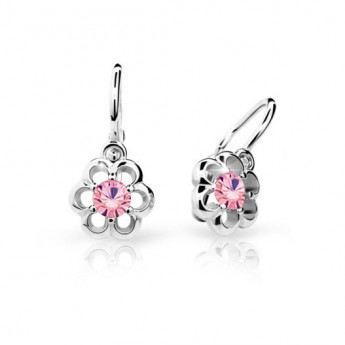 cbd5c410c Cutie Jewellery Dětské naušnice Cutie C1947-B Pink Dětské náušnice