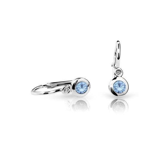 Cutie Jewellery Dětské naušnice Cutie C1537-B Arctic Blue
