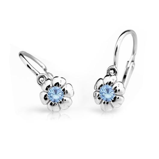 Cutie Jewellery Dětské naušnice Cutie C2151-B Arctic Blue