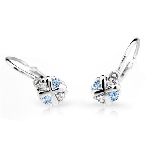 Cutie Jewellery Dětské naušnice Cutie C2153-B Arctic Blue