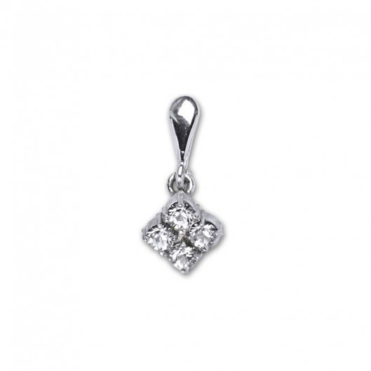 Čištín Přívěsek stříbrný P1324 crystal