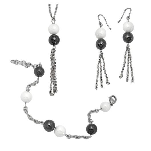 Set Tribal 011 náhrdelník, náramek a náušnice