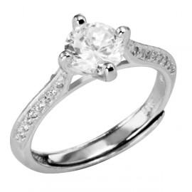 Selilya Silver Prsten stříbrný SRJ62