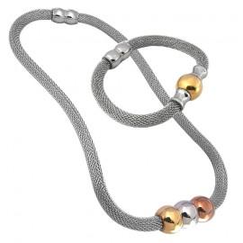 Tribal Set Tribal 083 náhrdelník a náramek