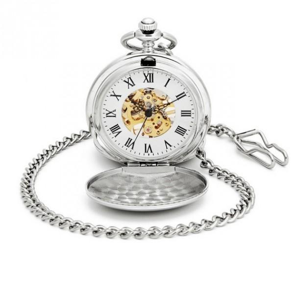 Mechanické kapesní hodinky otevírací - cibule Hodinky 188b203cd8