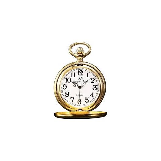 Zlacené kapesní hodinky v dárkovém balení 34fb236904