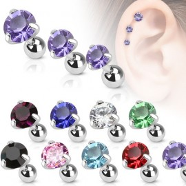 Cartilage piercing do ucha, zirkon 5 mm