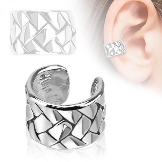 Falešný piercing do ucha - klips