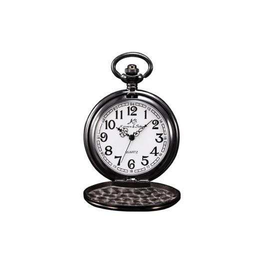 Černé kapesní hodinky v dárkovém balení 66d07c3cfc